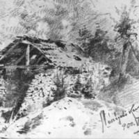 """""""Amerika"""" mészégető kemence. 1900. augusztus 2. fotómásolat"""